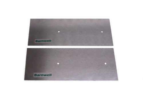 Barnwell 1.0mm Notched Adhesive Trowel Blade x 2